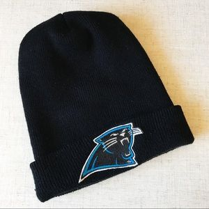 NFL Carolina Panthers 90's Throwback Black Beanie